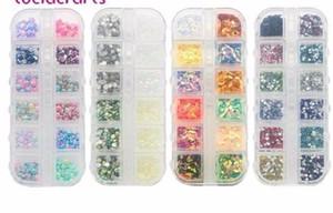 Artesanato 330 pçs / caixa Multi Estilos de Contas / lantejoulas / strass Para Diy Festa Garment Nail Art Decoração Acessórios 005008083
