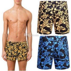 Polyester Short de bain Hommes Beach Wear Conseil 2019 Été Natation Imprimé floral Shorts Pantalons design pour Homme