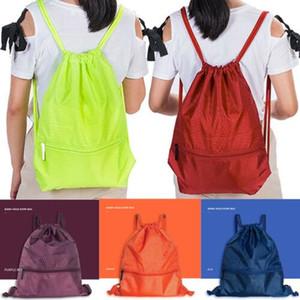 String afficherChaîne Back Pack Cinch Sac de sport Sac fourre-tout école Sport chaussures Sacs de rangement