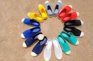 Горячая Распродажа-Летние Мужские Родные Брендовые Плоские Сандалии Повседневная Родная Обувь Пляжные Сандалии