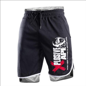 2018 été Hot-vente Mens Shorts Genoux Fitness Bodybuilding Mode Casual Entraînement Marque Pantalon Court Haute Qualité Pantalon Y190508