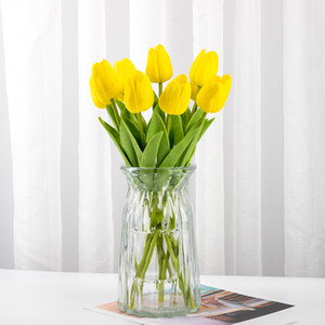 1Pcs Tulip Artificial Flowers Real touch Bouquet Flowers For Home Gift Wedding Decorative Flowers home decoration