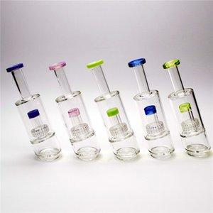 8 accessori in vetro colorato pollici per tamponare fumo accessorio consegna Pipe globale