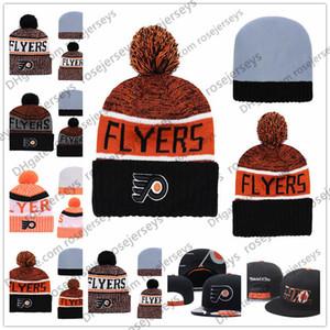 Филадельфия Flyers Хоккей Вязать Шапочки Вышивка Регулируемая Шляпа Вышитые Snapback Шапки Оранжевый Белый Черный Сшитые Шляпы Один Размер