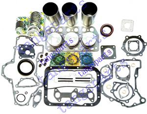 K3D Engine Rebuild Kit For Mitsubishi diesel trator excavator etc. Engine with cylinder head piston piston ring bearing & gasket kit