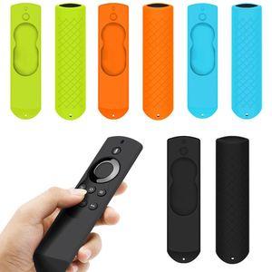 Anti Slip in silicone Custodia protettiva copertura Shell per Fire TV Voice Remote 5.9 pollici per Fire TV Stick Remote Controller 4 colori