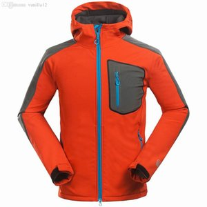 All'ingrosso-Marca giacca soft shell uomini sportivi sport all'aria aperta per il tempo libero alpinismo escursionismo giacca uomo antivento impermeabile