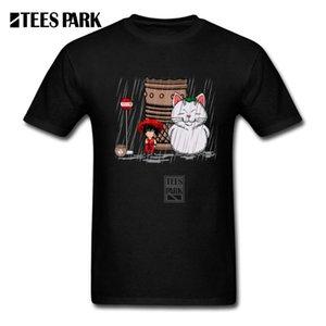 O-Neck Tees My Neighbor Karin Fun My Next 토토로 유스 반소매 사이얀 T 셔츠 청소년 디자인 t 셔츠