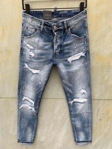 DSENQI NEW Men Jeans Zerrissene Jeans-Hosen für Biker Outwear Man Pants 933