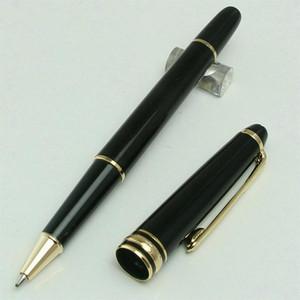 Edição limitada de qualidade Top MB Pens para o Dia das Mães presente branca Silver grampo 163 Rollerball Pen Marca Refill caneta com Número de Série