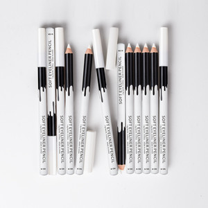 Menow P112 12 pieces box Makeup Silky Wood Cosmetic White Soft Eyeliner Pencil Menow highlight pencil