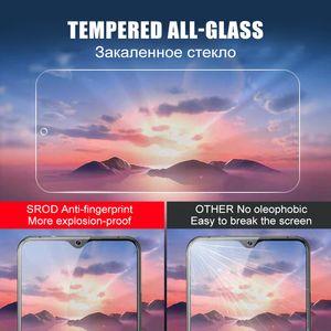 3pcs verre de protection sur Pour Xiaomi redmi 7 8 6 8A 7A 6A clair protecteur pour la note 8 7 6 Pro Film verre trempé