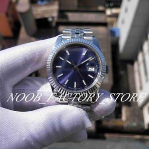 Super Factory صورة جديدة 126334 V2 اليوبيل سوار BP 2813 الحركة التلقائي الياقوت الزجاج الأزرق الاتصال الهاتفي 41mm الرجال الساعات