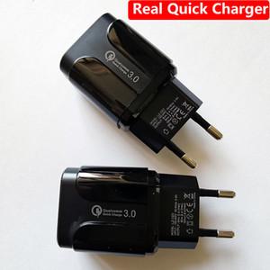QC3. 0 быстрое зарядное устройство Quick 3.0 A быстрый телефон USB зарядное устройство для Iphone 11 Huawei Samsung HTC EU Plug US plug
