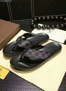 Nuovo colore di Parigi dal design di lusso cursori delle donne degli uomini Estate Sandali Beach scorrere pantofole signore Infradito Mocassini Blue Sky Chaussures-3