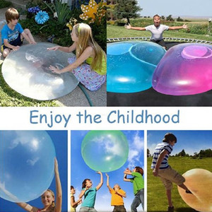S Size Amazing Bubble Ball Funny Toy Water-filled TPR Balloon For Kids Adult Outdoor Wubble Bubble Ball Inflatable Toys Party Decorations
