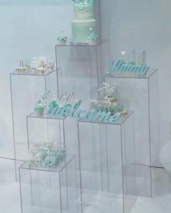 Fiori chiaro vaso di stand acrilico bouquet di fiori si distingue centrotavola matrimonio strada visualizzazione mestiere Finestra corridoio conduce fiori di nozze fondali