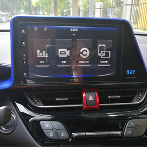 10.2 인치 자동차 내비게이션 강화 유리 화면 보호기 스틸 보호 필름에 대한 TOYOTA CHR CHR 2016년에서 2018년까지 LCD Guarder