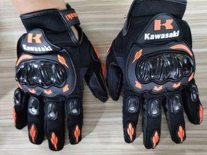 2020 Kawasak carbon fiber OFF-road vehicle, motorcycle, bicycle, bike, racing bike, anti-fall, anti-skid, all-finger sports gloves07