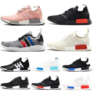 Adidas NMD R1 boost Scarpe da corsa Solar Red Japan White Thunder Uomo Donna Sport Luxury Shoes Designer Sneakers Sneakers 36-45