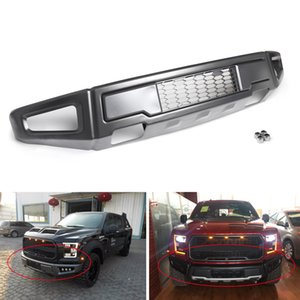 Areyourshop 1 PCS Raptor Style Steel Front Bumper Assembly For F-150 F150 2015-2017 Front Bumper Car-Styling Accessories Parts