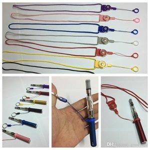 VAPE kordon Parmak Ring Silikon Sabit O şekil daire Taşınabilir kolye Yenilikçi Tasarım kolye için EVOD ego-t Vape Kalem Kiti DHL