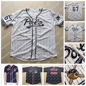 67 Polo osos jersey de béisbol de Nuevo Polo Polo oso de peluche cosido doble Nombre y número del jersey de béisbol para mujer para hombre de envío libre de la juventud