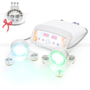 Vente chaude 3 en 1 machine de beauté faciale Microdermabrasion de diamants avec 7 couleurs Photon Led Micro Current Device
