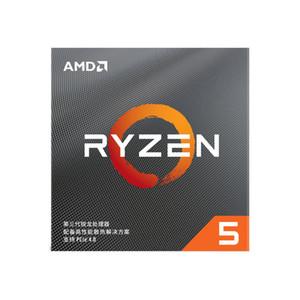 Novo AMD Ryzen 5 3600 R5 3600 3.6 GHz 6-Core Processor CPU 12-Thread 7nm 65W Original Processador Soquete AM4 Desktop com o Fan