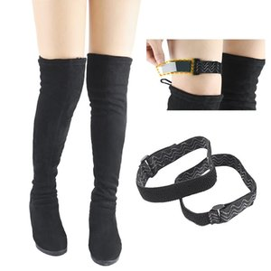 1 Pair Boots Belt Strap Women Fixing Shoes Anti Fall Elastic Adjustable Inside Non Slip Adhesive Tape Elastic Cord