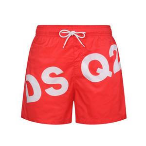 Marke Stickerei Board Shorts Mens Sommer-Strand-Kurzschluss-Hosen Hochwertige Bademode Bermuda Male Brief Surf Life Junge Schwimmen