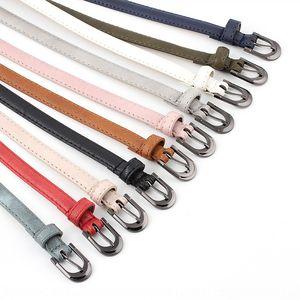 Decorative ladies' thin belt simple buckle decorative women's fashion headband students' personalized trousers belt women's fashion