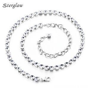 fashion Crystal metal chain belt Women 2020 Belts Belts & Accessories rhinestone bridal female belt with stones ceinture femme strass stergl