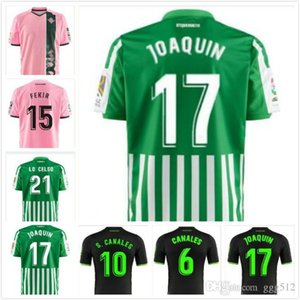 19 20 Royal Betis JOAQUIN MANDI FEKIR soccer jersey 2019 2020 BARTRA CANALES home away 19 20 new top thai adult quality A+++ football shirt