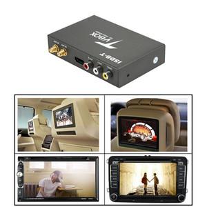 T518 ISDB-T Carro Receptor de TV Digital Caixa HD Monitor PAL NTSC receptor analógico de TV Sintonizador com antena telecomando Kit GPS