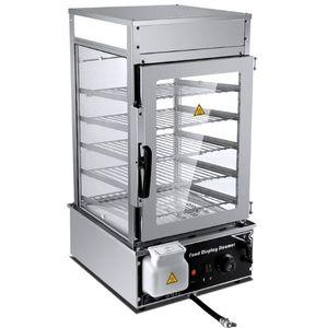 Présentoir de nourriture à 4 couches de machine à cuire en acier inoxydable WinYe