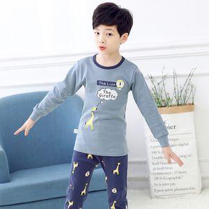 Big Boys Girls Sleepwear Kids Pajamas Children Cotton Clothing Suit Baby Rabbit Pyjamas T-shirt Pants 2pcs Infantil Pijama Sets