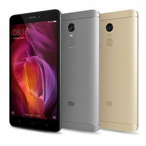 Оригинальный Xiaomi Redmi Note 4 Octa Core 5.5 дюймов 64 ГБ ROM Android 4G LTE отремонтированный смартфон