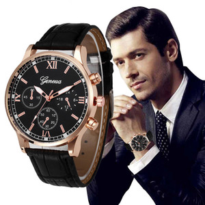 1 Design Retro Homens Mulheres Relógios Design Retro Pu Pulseira de Couro Analógico Liga de Quartzo Relógio de Pulso dos homens Relógio de Mulheres Hora Reloj Muje