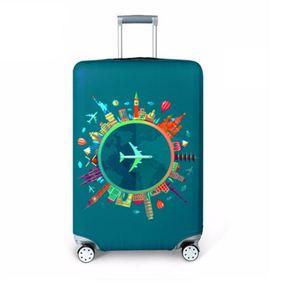 Newl hicker Seyahat Bagaj Koruyucu Kapak Bavul Durumda Seyahat Aksesuarları Elastik Bagaj Toz Kapağı Uygula 18 '' - 32 '' Bavul (Perakende)