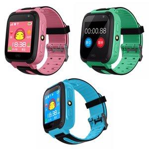 S4 Wasserdicht Touch Screen Smart Watch Wrist Anti-verloren SOS Dial Anruf Smartwatch mit GPS-Empfänger Tracker Kinder Kinder Geschenke