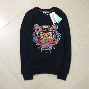 Лучшие бренды G4 kenzo толстовки мужская толстовка тигровая голова вышивка новая пара толстовка с капюшоном и фирменное письмо дизайнер уличной одежды