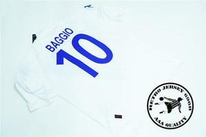 Free shipping retro Brescia 2004 05 season baggio home soccer jersey