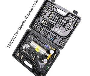 Remise! C100 Double mètre Universal Automobile non Dismantle Système de carburant plus propre outil de nettoyage Injector automatique pour les voitures essence