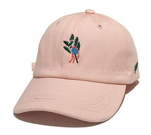 MinanSer de los hombres de la gorra de béisbol del flamenco CottonTwill patín bordado los sombreros de béisbol de las mujeres para hombre del papá Casquillo ajustable del sombrero broche de presión
