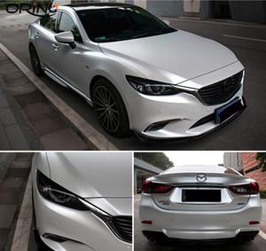 Car Styling Chrome Pérola Cerâmica branca vinil para carro envolvimento Pérola Matt White Satin Film Folha Com Air Release etiqueta