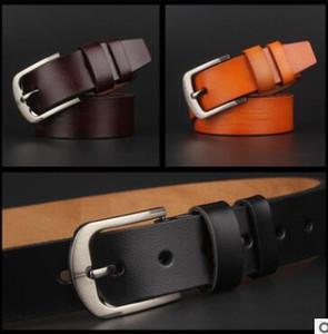 Belts Women High Quality Genuine Leather.2019 Belt Womens Belts For Women Cinto Masculino Belt Mens Size 100-125CM