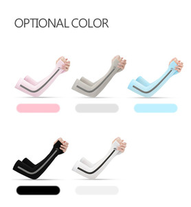 sleeves men's and women's summer ice silk sunscreen sleeves outdoor travel bicycle riding sports shade arm sleeves hot sale