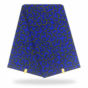 Горячая продажа 20design 6 ярдов 100% хлопок африканский воск печатает ткань hollandais воск африканская ткань для платья 2019 Анкара ткань голландский воск HH-A