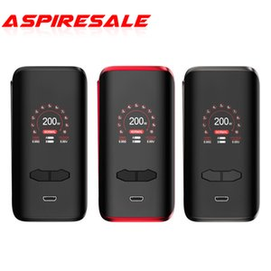 Augvape VX200 Box Mod 200W Powered by Dual 18650 Batteries With 1.3 Inch Colorful Screen 100% Original